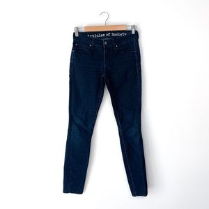 Articles Of Society Skinny Blue Jeans